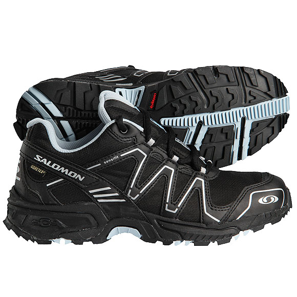 salomon damen outdoor schuhe caliber gtx gr 39 1 3 goretex trekking ebay. Black Bedroom Furniture Sets. Home Design Ideas