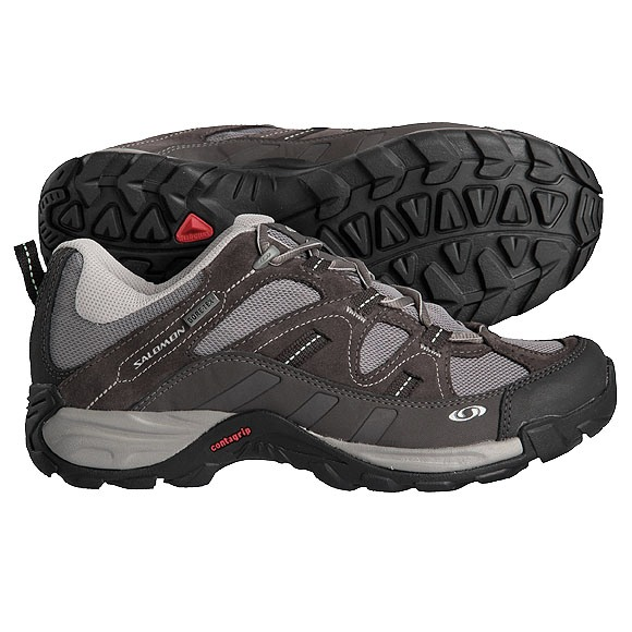 salomon damen outdoor schuhe highland gr 42 goretex trekking gtx ebay. Black Bedroom Furniture Sets. Home Design Ideas