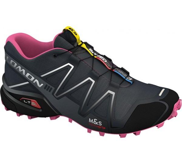 salomon damen schuhe speedcross 3 gr 39 1 3 laufschuhe trail running ebay. Black Bedroom Furniture Sets. Home Design Ideas
