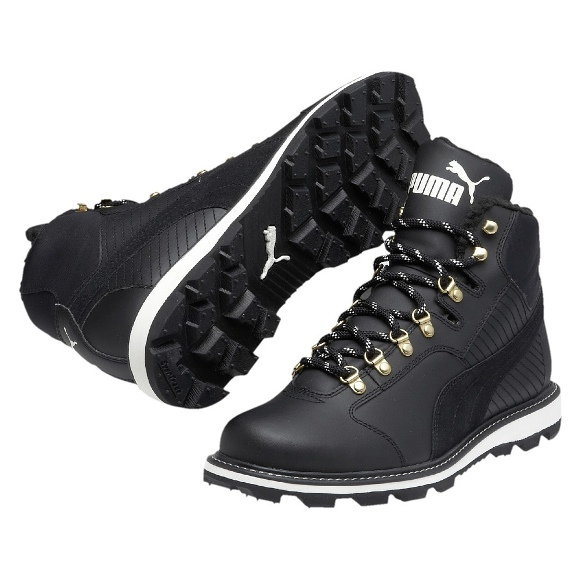 puma sneaker tatau fur boot gr 42 winter stiefel schuhe herren neu ebay. Black Bedroom Furniture Sets. Home Design Ideas