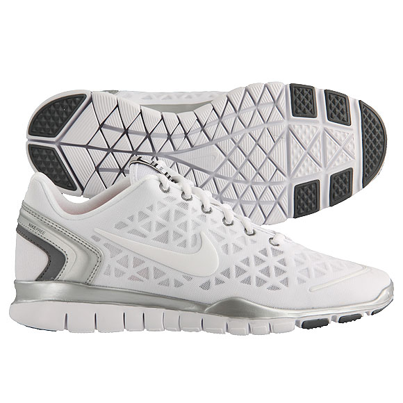 nike free tr fit 2 weiss
