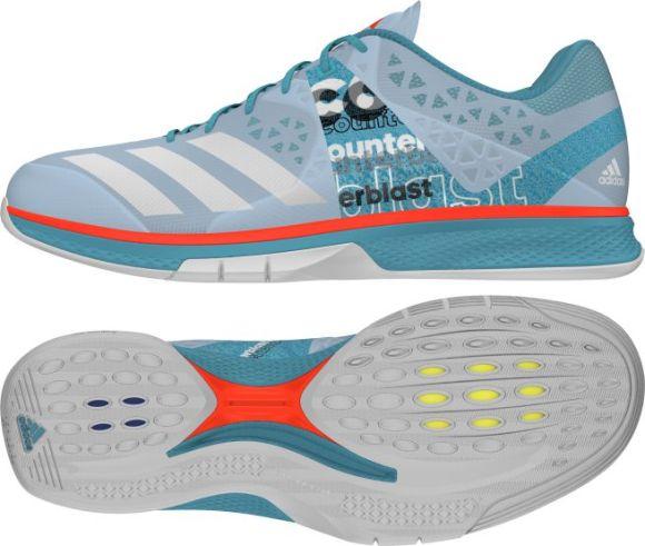adidas Counterblast Falcon Handballschuhe Hallenschuhe Handball Schuhe AQ2340