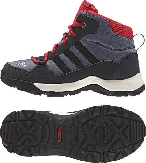 adidas schuhe hyperhiker mid gr 38 stiefel outdoor kinder jungen ebay. Black Bedroom Furniture Sets. Home Design Ideas