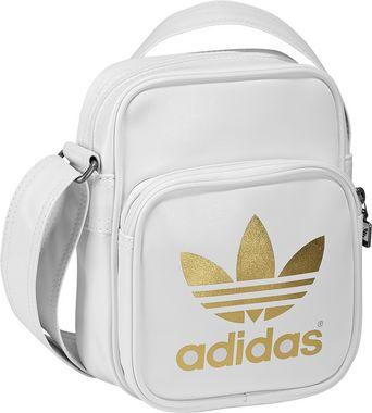 167413a2621ea Adidas Originals Tasche AC Adicolor Mini Sir Bag weiß Schultertasche ...